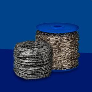 Alambre, cadenas y cables